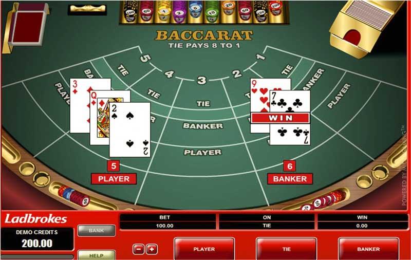 Cách lựa chọn bàn chơi Baccarat online ăn tiền thật 1