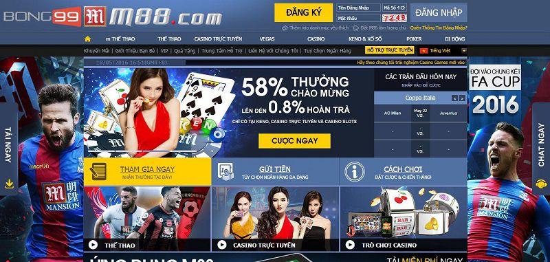 Liệu bạn có muốn chơi cá cược bóng đá online tại M88