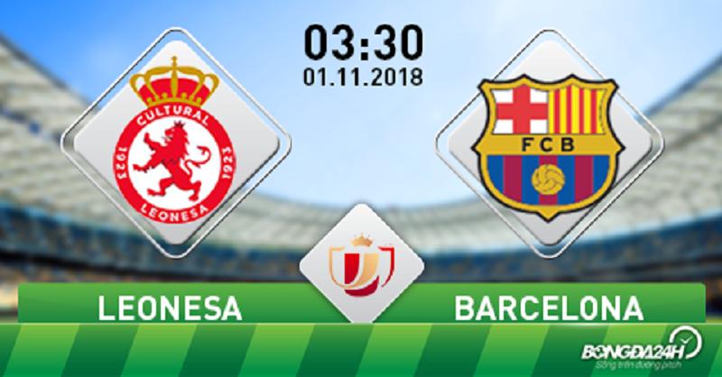 Nhận định kèo nhà cái W88: Leonesa vs Barca, 3h30 ngày 1/11