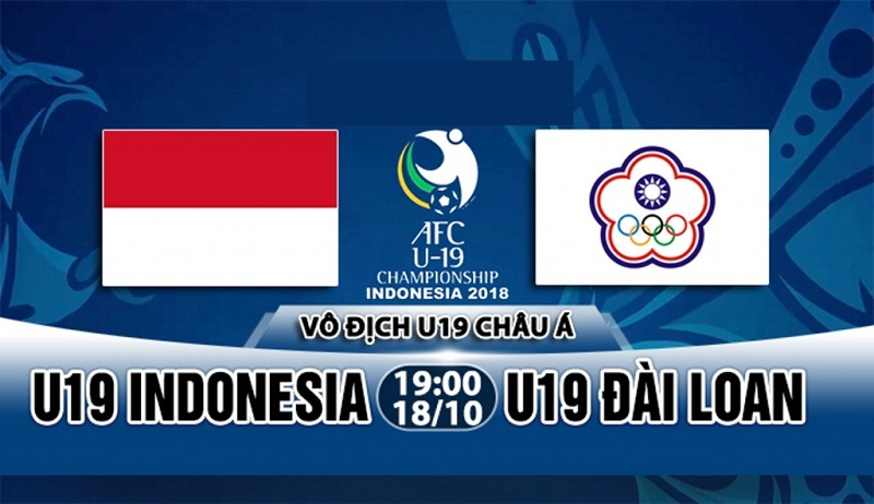 Nhận định kèo nhà cái W88: U19 Indonesia vs U19 Đài Loan 19h ngày 18/10