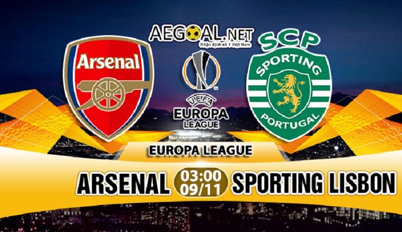 Nhận định kèo nhà cái M88: Arsenal vs Sporting Lisbon, 03h00 ngày 9/11
