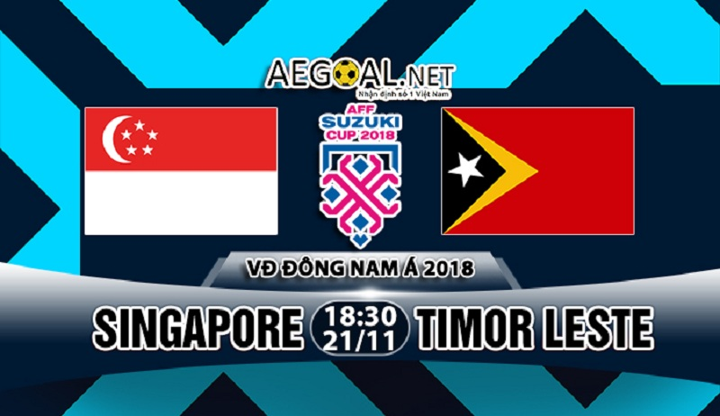 Nhận định kèo nhà cái M88: Singapore vs Timor Leste, 18h30 ngày 21/11