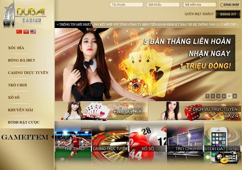 Link vào dubai casino mới và nhanh nhất