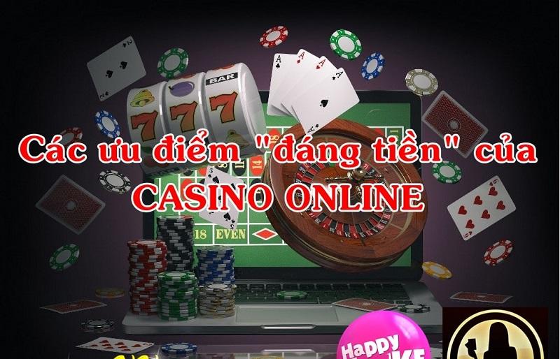 lợi ích khi chơi casino trực tuyến